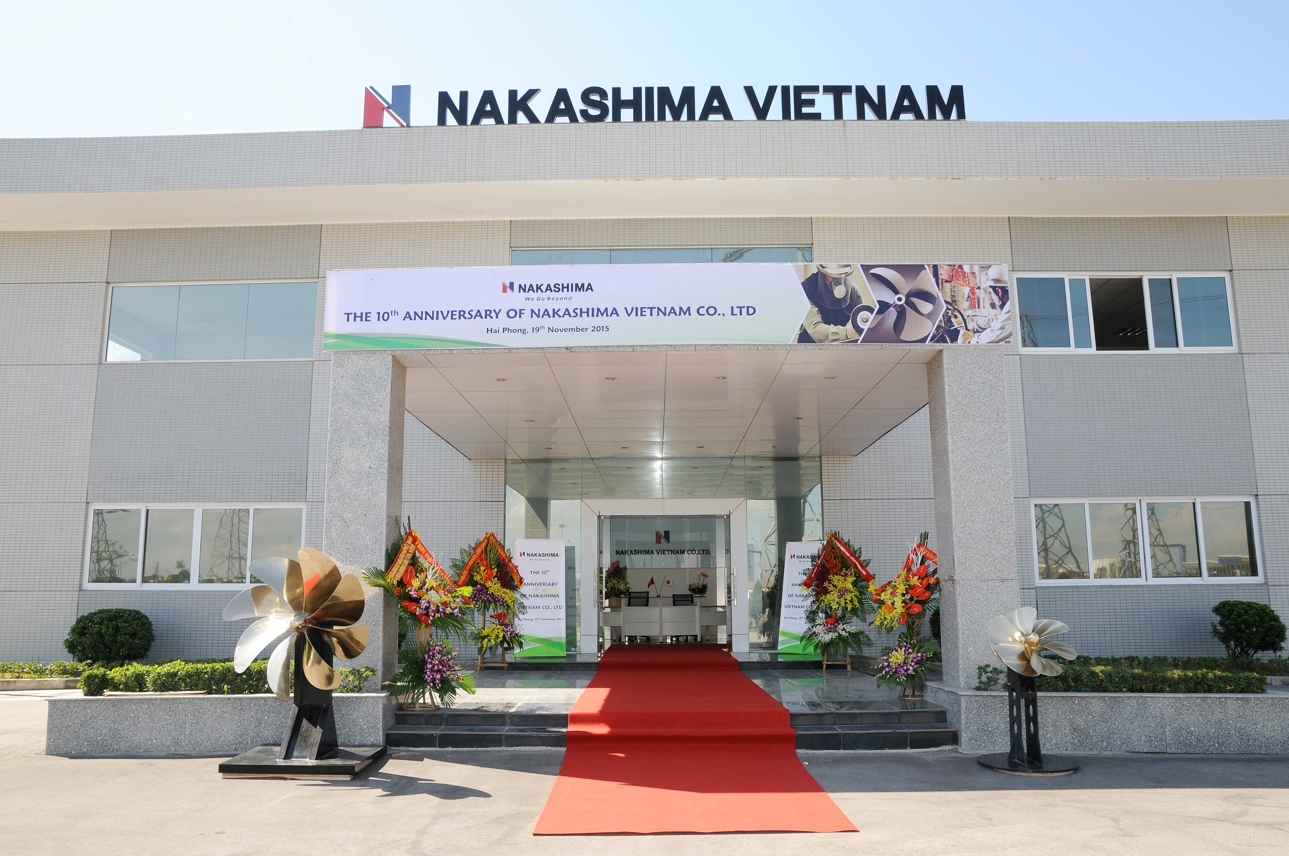 10th Anniversary of Nakashima Vietnam Co., Ltd (2005-2015)